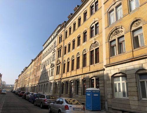 2 denkmalgeschützte Mehrfamilienhäuser in Dresden